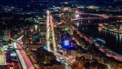 University of Boston Bridge over Charles Rives in Boston Massachusetts Time-lapse Aerial view of Boston Turnpike traffic during sunset time-lapse, Charles Rives bridge University of Boston Massachusetts 4k stock videos & royalty-free footage