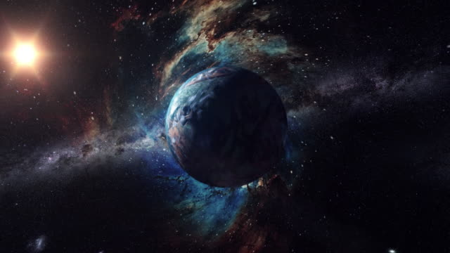 okänd planet utanför vårt solsystem - fysik bildbanksvideor och videomaterial från bakom kulisserna