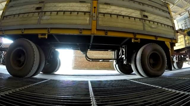 Unloading Corn Grain into a Silo video