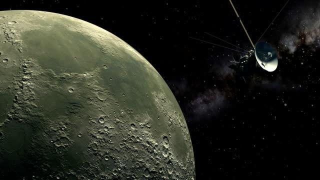 orbiter bezzałogowych statków kosmicznych - badawczy statek kosmiczny filmów i materiałów b-roll
