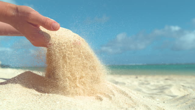 Sehr Sand Rieseln - Videos und B-Roll Material - iStock MX61