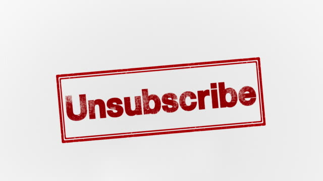 unsubscribe subscribe k icon stock videos & royalty-free footage
