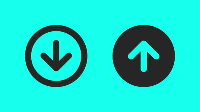Up & Down - Vector Animate video