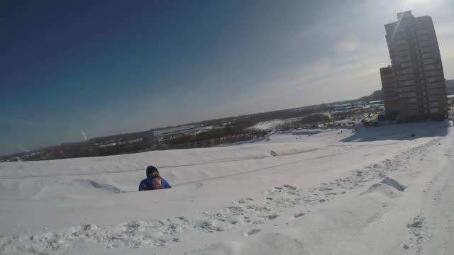 上り坂のチューブビデオ ビデオ