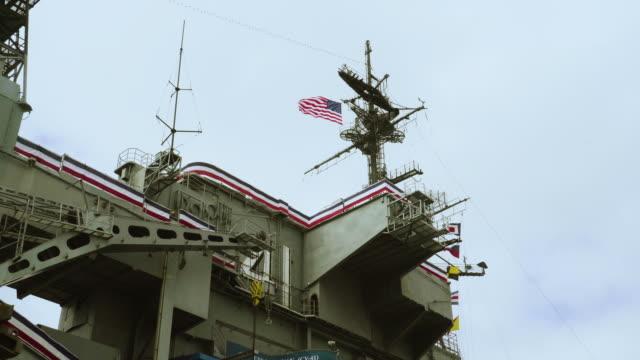 Video Upper Deck Flight Communication for a US Aircraft Carrier