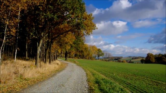 Upper Lusatia in autumn, timelapse – film