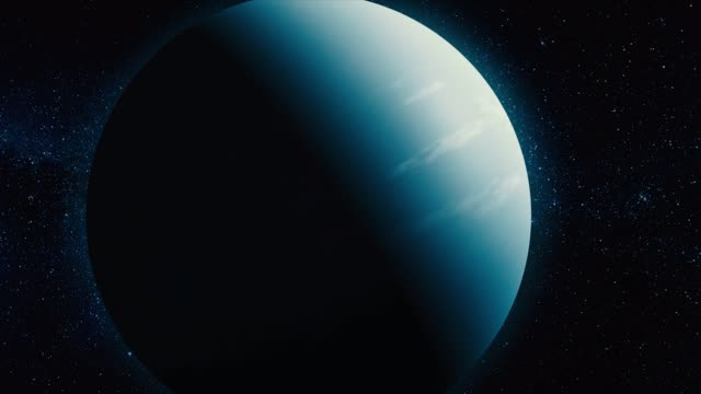 Royalty Free Uranus HD Video 4K Stock Footage B Roll