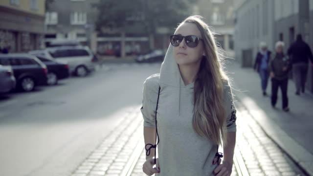 Urban girl in Vienna