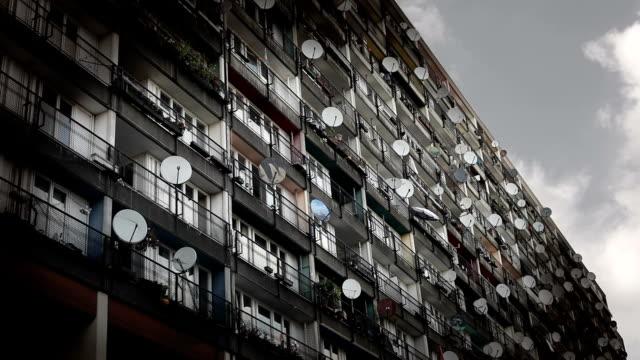 vidéos et rushes de hébergement urbain - hlm