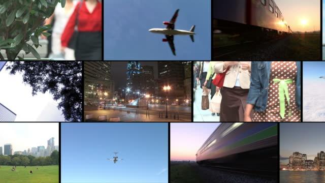 hd-montage: urbaner lifestyle - montage filmtechnik stock-videos und b-roll-filmmaterial