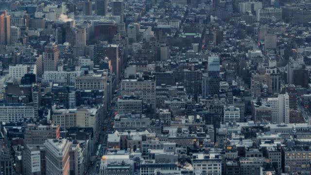 t/l ha pan städtischen wohngebiet / manhattan, nyc - abwesenheit stock-videos und b-roll-filmmaterial