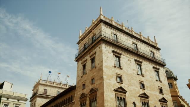 Urban-Szene in der Stadt Valencia, Spanien – Video