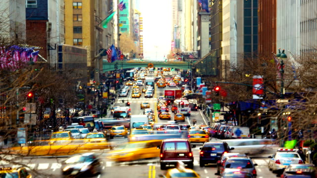 Urban Traffic in New York video