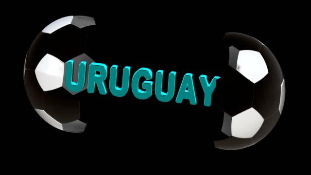 Uruguay. 4K Resolution. Looping. Uruguay. 4K Resolution. Looping. international match stock videos & royalty-free footage