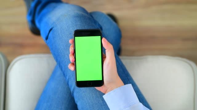 Using chroma key screen smart phone