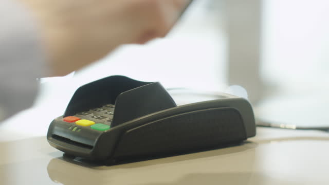 Using Credit Card Terminal with Magnetic Stripe video