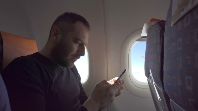 Using phone in the plane