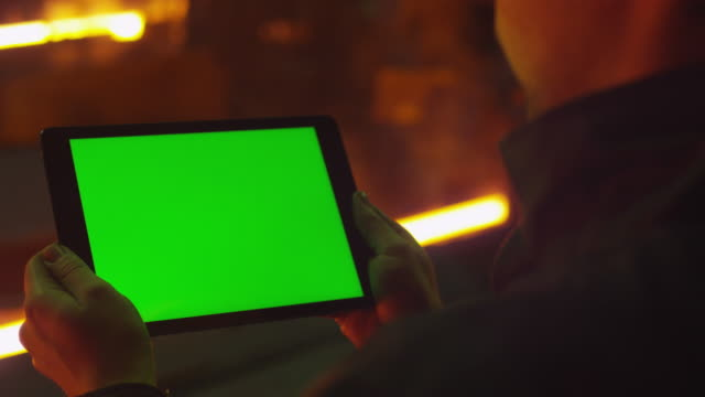 Using Tablet PC with Green Screen in Foundry. Industrial Environment. Great for Mock-up usage. video