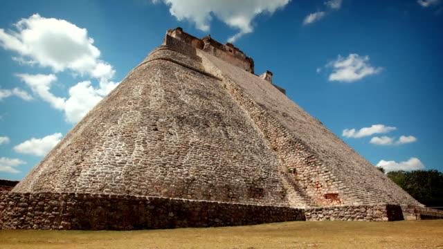 Uxmal Mayan Pyramid, Mexico video