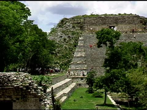 Uxmal Mayan Ruins Site in Yucatan Mexico 4 video