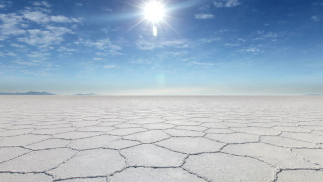 Uyuni Salt Flats, Bolivia Timelapse of amazing Uyuni Salt Flats in Bolivia salt flat stock videos & royalty-free footage
