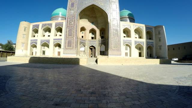 Uzbekistan,Ulugbek madrasah madrasah in Bukhara, makes a uniform complex with madrasah of Abdulazis-hana video