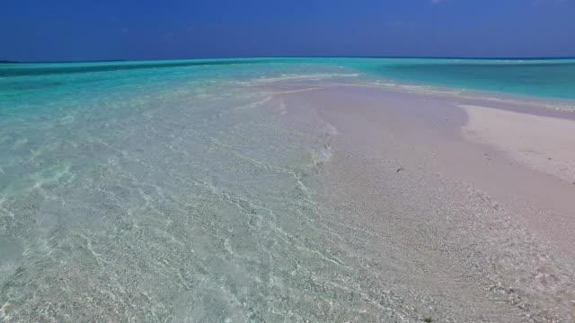 v02134 Maldives beautiful beach background white sandy tropical paradise island with blue sky sea water ocean 4k Maldives beautiful beach background white sandy tropical paradise island with blue sky sea water ocean 4k indian ocean islands stock videos & royalty-free footage