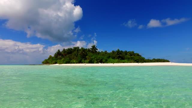 v02342 Maldives beautiful beach background white sandy tropical paradise island with blue sky sea water ocean 4k Maldives beautiful beach background white sandy tropical paradise island with blue sky sea water ocean 4k indian ocean islands stock videos & royalty-free footage