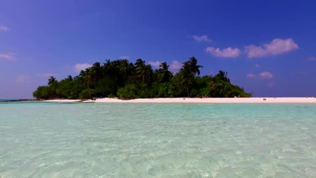 v02349 Maldives beautiful beach background white sandy tropical paradise island with blue sky sea water ocean 4k Maldives beautiful beach background white sandy tropical paradise island with blue sky sea water ocean 4k indian ocean islands stock videos & royalty-free footage