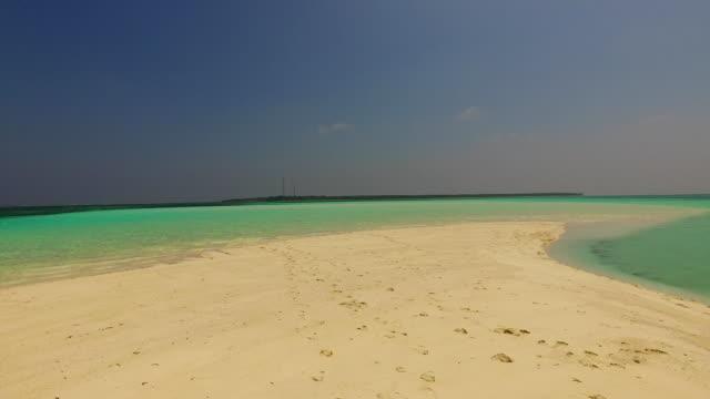 v02380 Maldives beautiful beach background white sandy tropical paradise island with blue sky sea water ocean 4k Maldives beautiful beach background white sandy tropical paradise island with blue sky sea water ocean 4k indian ocean islands stock videos & royalty-free footage