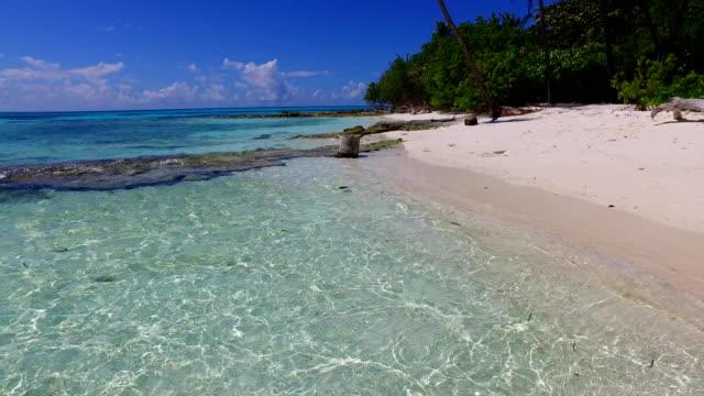 v02392 Maldives beautiful beach background white sandy tropical paradise island with blue sky sea water ocean 4k Maldives beautiful beach background white sandy tropical paradise island with blue sky sea water ocean 4k indian ocean islands stock videos & royalty-free footage