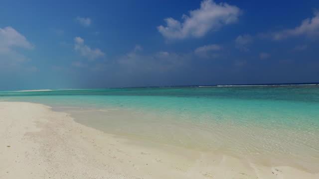 v02450 Maldives beautiful beach background white sandy tropical paradise island with blue sky sea water ocean 4k Maldives beautiful beach background white sandy tropical paradise island with blue sky sea water ocean 4k indian ocean islands stock videos & royalty-free footage