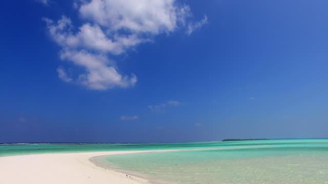 v02456 Maldives beautiful beach background white sandy tropical paradise island with blue sky sea water ocean 4k Maldives beautiful beach background white sandy tropical paradise island with blue sky sea water ocean 4k indian ocean islands stock videos & royalty-free footage
