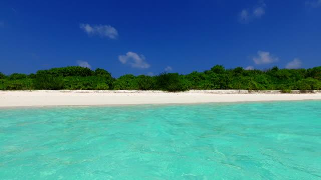 v02474 Maldives beautiful beach background white sandy tropical paradise island with blue sky sea water ocean 4k Maldives beautiful beach background white sandy tropical paradise island with blue sky sea water ocean 4k indian ocean islands stock videos & royalty-free footage