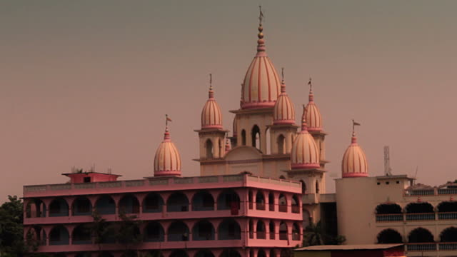 Vaisnava temple. Still shot. video