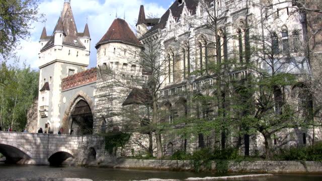 Vajdahunyad Castle in Budapest (HD)
