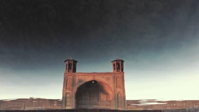 シラーズのヴァキルモスク - モスク点の映像素材/bロール