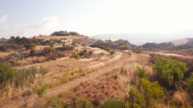 Val d'Orcia scenic video