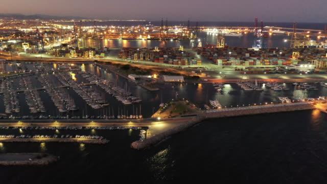 Valencia Port Aerials