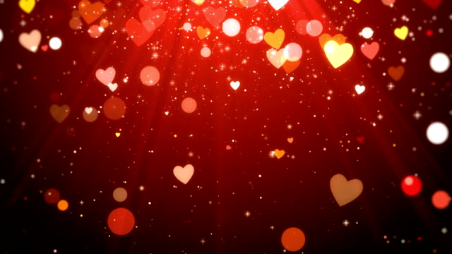 valentine background, looped - valentines day stock videos and b-roll footage