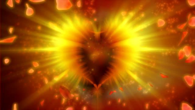 Valentine background video