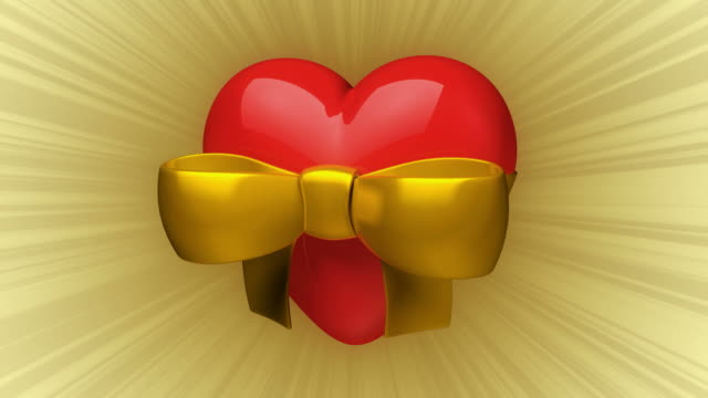Valentine Heart with Bow video