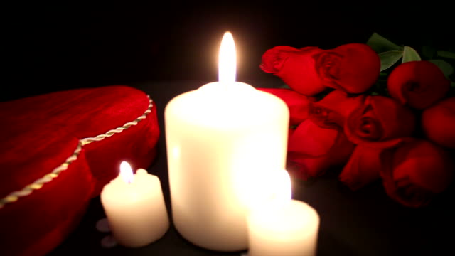 Valentine's Day by candlelight video