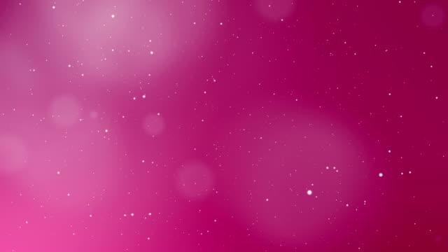 Día de San Valentín rosa de fondo abstracto - vídeo