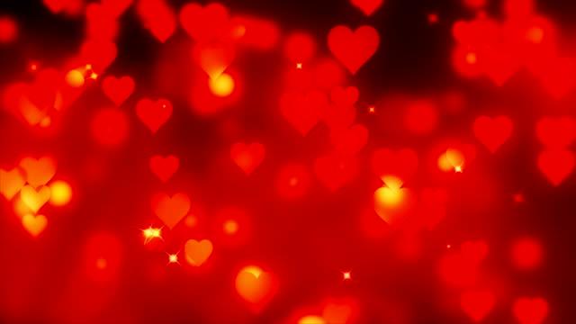 vidéos et rushes de 4k-valentin romantique arrière-plans bouclables - picto urne