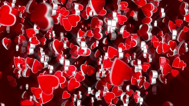 vidéos et rushes de coeur saint-valentin (bouclables) - fête de naissance