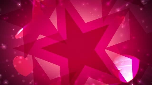 Valentines Stars & Hearts video