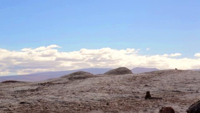 stockvideo's en b-roll-footage met valle de la luna -vallei van de maan- woestijn van atacama - maasvallei