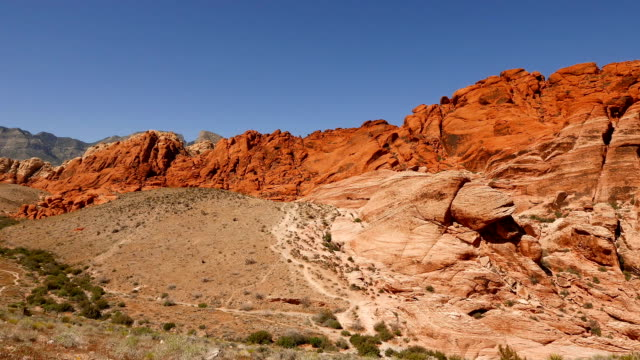 valley of fire, nevada - red rock canyon national conservation area video stock e b–roll