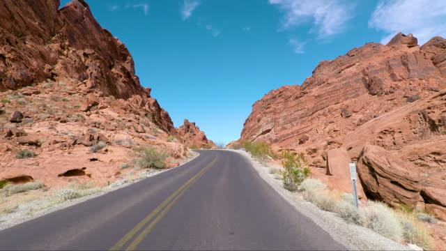 美國火之路之谷 - 州立公園 個影片檔及 b 捲影像